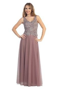 Plus Size Mother of the Bride/Evening Dress MQMQ888 – The Rose ...