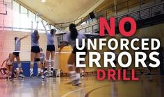Unforced errors can really hurt your team during a drill. This drill will help your team stop making those errors and giving the other team free points. Volleyball Practice, Volleyball Games, Volleyball Training, Volleyball Workouts, Volleyball Quotes, Coaching Volleyball, Volleyball Motivation, Basketball Cheers, Girls Basketball