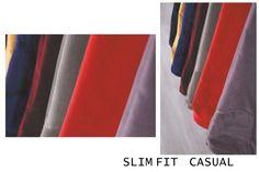 PANTALONI SLIM FIT – CASUAL | Seroussi -producător și distribuitor de costume bărbătești Different Fabrics, Different Styles, Fall Winter 2014, Slime, Casual, Trousers, Costume, Pattern, Shopping