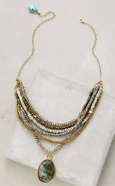 Perlea Necklace #anthrofave