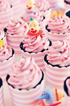 Black Velvet Cupcakes via Sweetapolita