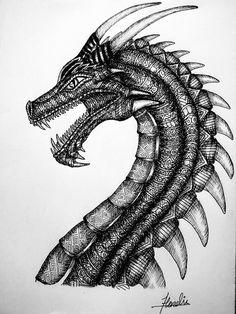 ★Dragon...!!🐉🐲🔥 . . . #art#artist#drawing#ink#inkwork#drawings#blackpen#blackart#creativeart#creative#sketches#facebook#instagay#awesome#instagood#instagramers#Google#hardik_vishroliya#deadliest#deadly#dragon#dragons#danger#devianart#follow#zentangle#killer#dragonballsuper