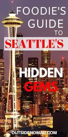 Space Guide Make your next trip to Seattle more memorable with these Fun and Funky Seattle restaurants. Travel to this great city and enjoy the best food. A locals guide to the best eating spots in Seattle. A foodie's guide to great food in Seattle. Seattle Travel Guide, Seattle Vacation, Seattle Food, Seattle Restaurants, Downtown Seattle, Seattle Skyline, Best Places To Eat, Cool Places To Visit, Usa Travel
