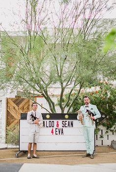 Gotta include the pups in your portraits! | Brides.com