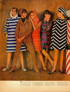 1960s colorful dresses