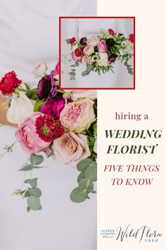 As you start planning your wedding, choosing and working with a floral designer should be at the top of your to-do list. As farmer-florists who specialize in wedding design, The Barn Of Chapel Hill's Wild Flora Farm knows exactly what you need to look for when hiring a wedding florist. Read their latest blog post to get 5 tips on finding the best wedding florist for your important day. Wedding Hair Flowers, Flowers In Hair, Floral Wedding, Wedding Bouquets, Plan Your Wedding, Wedding Tips, Floral Centerpieces, Wedding Centerpieces, Flora Farms