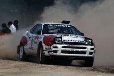 ra Markku Alen - Ilkka Kivimaki-Toyota Celica Turbo 4WD (ST185) Gr.A-Toyota Team Europe-Rally Portugal 1992