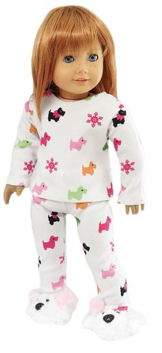 Silly Monkey - White Scottie Dog Pajamas, $16.99 (http://www.silly-monkey.com/products/white-scottie-dog-pajamas.html)