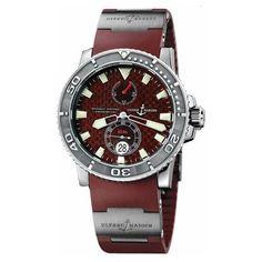 Ulysse Nardin Men's 263-33-3/95 Maxi Marine Diver Watch