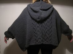 Hand knitting cardigan for winter by StudioCybele on Etsy, $140.00