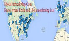 Ebola Outbreak Map Ebola Virus is everywhere!