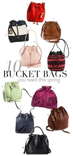 Bucket Bags You Need This Spring - theglitterguide.com