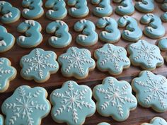 Frozen Themed Sugar Cookies 12 by MandysCookies101 on Etsy