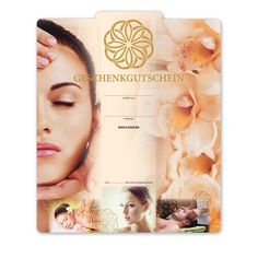 Multicolor-Geschenkgutschein KS274 für Kosmetik und Massage/Wellness
