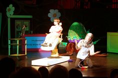 Dentist - need only be this - great!  Little Shop of Horrors 2011 Summer Musical by Lower Columbia College, via Flickr