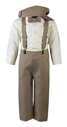 Lito Baby Boys Light Blue Eton Short Formal Ring Bearer Easter Suit 6-24M