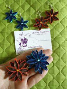 Double jewellery quilled