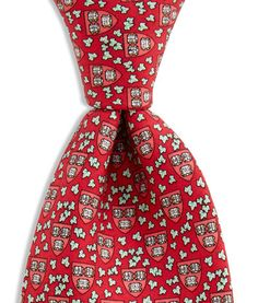Men's Ties: Harvard University Printed Silk Tie for Men – Vineyard Vines