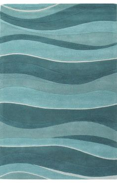 Kas Oriental Eternity Landscapes Ocean Rug: Our Dining room 7.5ft x 9.5ft minimum= table + 24 cm on each side, ideal 8x10.