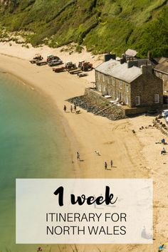 A perfect 1 week itinerary to see the best of North Wales Best Places To Travel, Places To Visit, Wales Tourism, Wales Beach, Castles In Wales, British Beaches, Pembrokeshire Wales, Visit Wales, Visit Uk