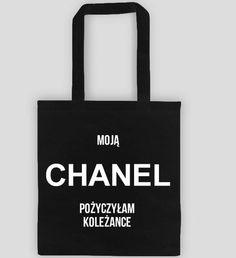 Torba bawełniana na zakupy Moja Chanel tomishop.pl