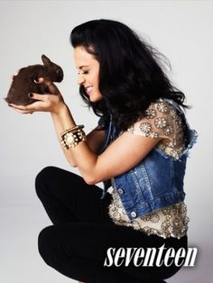 Katy on seventeen magazine.