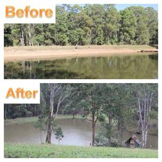 Take a look at what happened when John from Wolvi QLD, used our Water$ave Plug & Seep. Find out how to seal your leaking dam or pond at: www.polymerinnovations.com.au  #leaking #water #sealer #agriculture #farm #eco