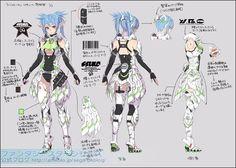 Phantasy Star Online 2 RAnewearl concept art.