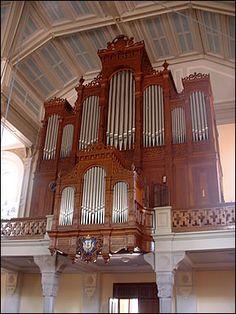 L'orgue Stiehr du temple Saint Martin