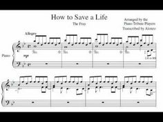 [Sheet Music] Piano Tribute Players - How to Save a Life