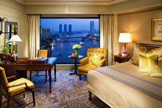 Mandarin Oriental Hotel Bangkok Thailand – 5 Star City Hotel Located in downtown Bangkok next to the scenic Chao Phraya River, this hotel offers beautiful river views. #thailand #bangkok #luxuryresorts #hotel #luxuryhotels