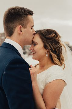Utah Winter Wedding | Kahaia Chantal Photography | Ogden Utah Temple | Cache Valley Photographer | Wedding Photographer Utah