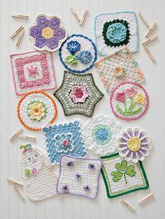 A Year of Dishcloths crochet a variety of dishcloth patterns