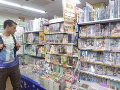 manga and light novels and magz