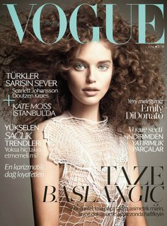 Emily DiDonato in Christopher Kane for Vogue Turkey cover is perfection