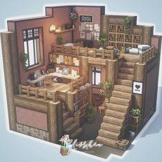 Minecraft House Plans, Minecraft Cottage, Minecraft Houses Survival, Cute Minecraft Houses, Minecraft Room, Minecraft House Designs, Amazing Minecraft, Minecraft Blueprints, Minecraft Creations