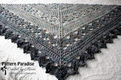 Join Me for the Spring Showers Shawl Crochet Along (CAL) | Pattern Paradise