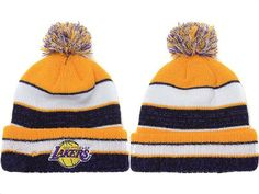 033f92ced005f2 2017 Winter NBA Fashion Beanie Sports Fans Knit hat Lakers Hat, Cheap  Beanies, Nba
