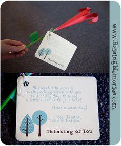 Paper Flower Service Project