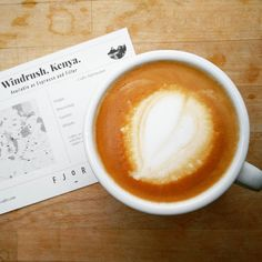 Heute haben wir den Windrush von @fjord.coffee in der Maschine... Süß und fruchtig mit Noten von Beeren. Unglaublich gut!