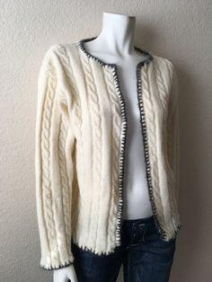 Vintage Women's 70's Jantzen Cardigan Sweater by Freshandswanky
