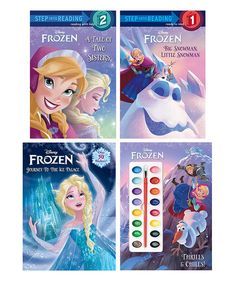 Take a look at the Frozen Paperback & Painting Set on #zulily today!