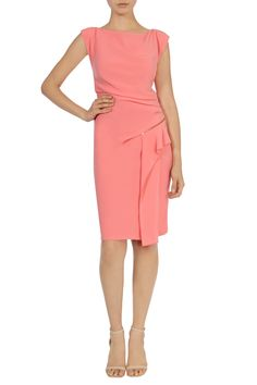 All Dresses | Pinks GRACIE CREPE DRESS | Coast Stores Limited
