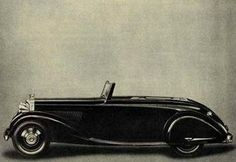 Four-seater Drophead Coupé by H.J. Mulliner (chassis B69JY)