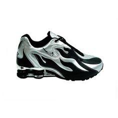 Nike Shox R4 Torch Rough Black White