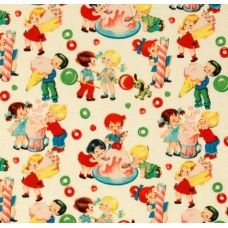 Retro Candy Shop Home Decor Cotton Fabric Multi by Michael Miller - Order Online - Fabric Traders