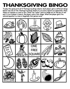 thanksgiving printables and activities   Printable Thanksgiving Activities like Thanksgiving Worksheets, Word ...