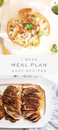 Thinking of the weeks ahead, it seems helpful to organize all my favorite simple recipes in one spot for your meal planning needs, week to week. These recipes are fast, easy and made with minimal ingredients to keep you organized and prepared. #menuplan #menu #easyrecipes #recipe Chicken Pasta Dishes, Chicken Wrap Recipes, Fun Easy Recipes, Easy Meals, Wine Pasta Sauce, Gourmet Mac And Cheese, Baked Chicken Breast, Yum Yum Chicken, Salad Recipes