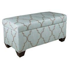 Skyline Custom Upholstered Storage Bench