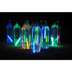 10 Fun Things to Do With Glow Sticks! ❤ liked on Polyvore
